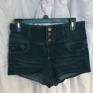 Blue Jean Short